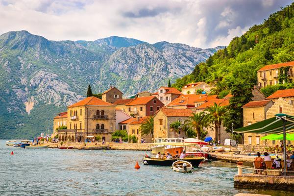 Perast, kotor. montenegro, tour, trip, kotor bay